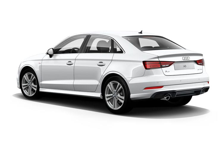 Audi A3 35 Saloon 4Dr 1.5 TFSI 150PS Edition 1 4Dr S Tronic [Start Stop] [Comfort Sound] back view