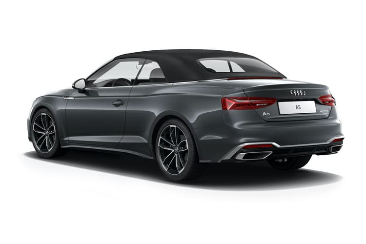 Audi A5 35 Cabriolet 2Dr 2.0 TFSI 150PS Edition 1 2Dr S Tronic [Start Stop] [Comfort Sound] back view