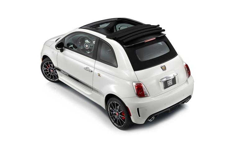 Abarth 595 C Cabrio 1.4 T-Jet 180PS EsseEsse 2Dr Manual back view