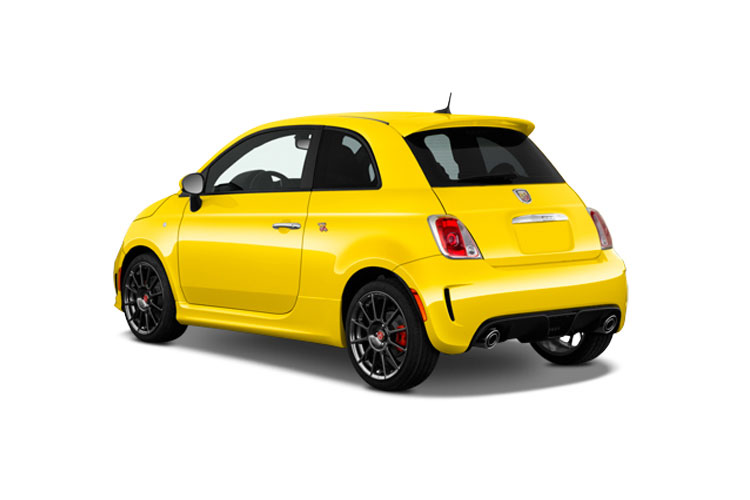 Abarth 595 Hatch 3Dr 1.4 T-Jet 180PS EsseEsse 3Dr Auto back view