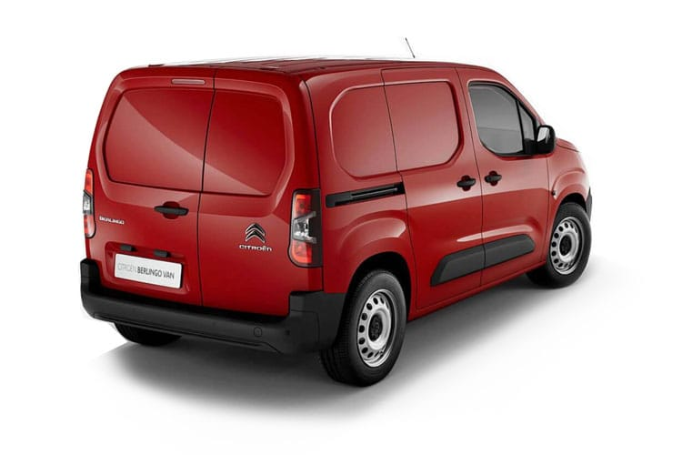 Citroen Berlingo XL 850Kg 1.5 BlueHDi FWD 100PS Enterprise Crew Van Manual back view