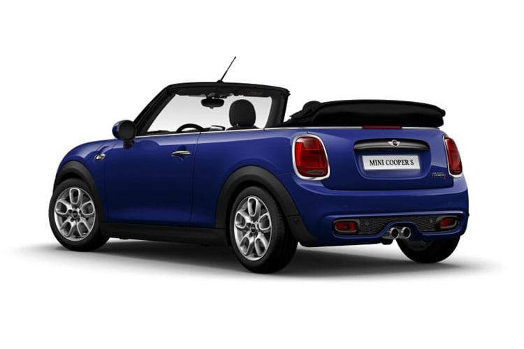 MINI Convertible Cooper S 2.0  192PS Exclusive 2Dr Steptronic [Start Stop] [Comfort Nav] back view