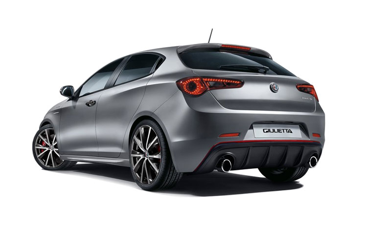 Alfa Romeo Giulietta Hatch 5Dr 1.6 JTDM-2 120PS Super 5Dr Manual [Start Stop] back view