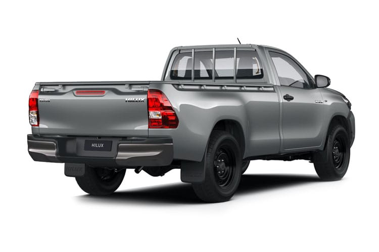 Toyota Hilux PickUp Extra Cab 4wd 2.4 D-4D 4WD 150PS Active Pickup Double Cab Manual [Start Stop] back view