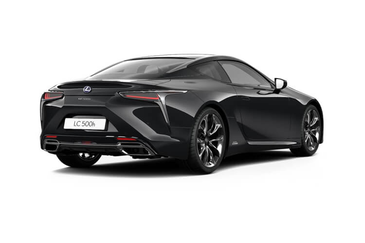 Lexus LC 500 Coupe 5.0 V8 464PS Sport Plus 2Dr Auto back view