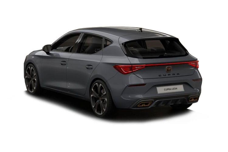 CUPRA Leon Hatch 5Dr 2.0 TSI 300PS VZ3 5Dr DSG [Start Stop] back view