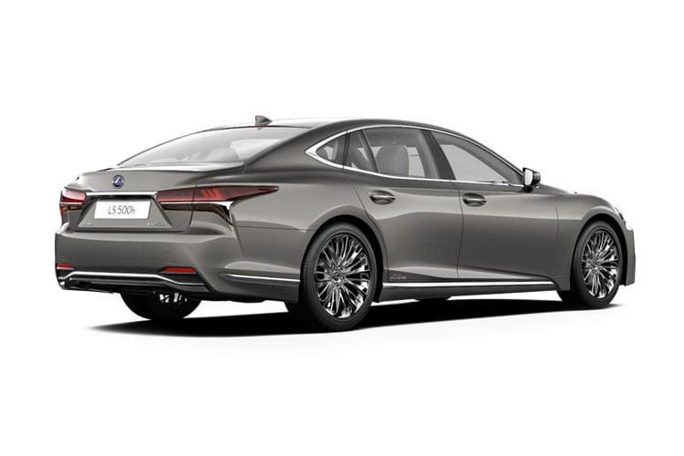 Lexus LS 500 Saloon 3.5 h V6 359PS F-Sport 4Dr E-CVT [Start Stop] back view