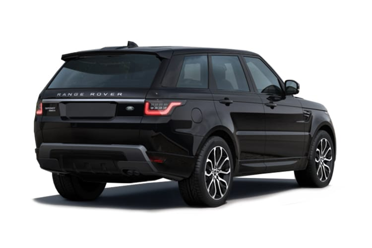 Land Rover Range Rover Sport SUV 5.0 P V8 575PS SVR Carbon Edition 5Dr Auto [Start Stop] [5Seat] back view