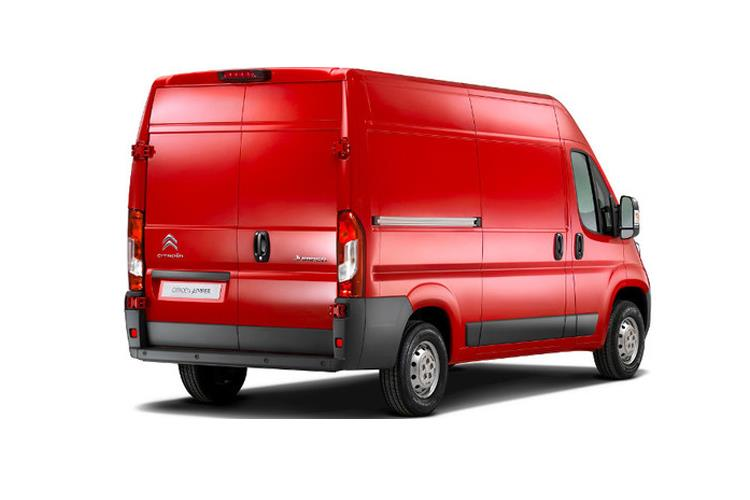 Citroen Relay 35 L3 2.2 BlueHDi FWD 140PS Enterprise Van High Roof Manual [Start Stop] back view