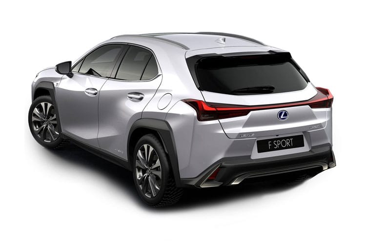 Lexus UX 250h SUV 2.0 h 184PS F-Sport 5Dr E-CVT [Start Stop] [without Nav] back view