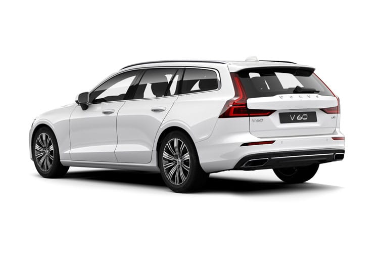 Volvo V60 Estate AWD PiH 2.0 h T8 Twin Engine 11.6kWh 390PS R DESIGN Plus 5Dr Auto [Start Stop] back view