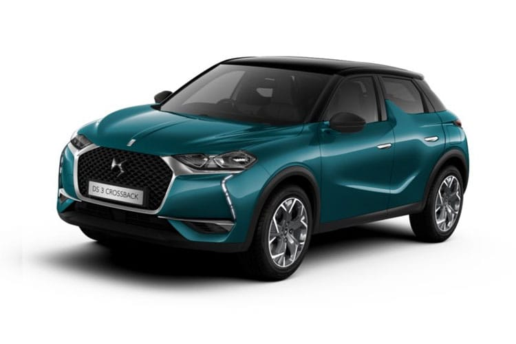 DS Automobiles DS 3 Crossback 5Dr 1.5 BlueHDi 100PS Prestige 5Dr Manual [Start Stop] front view