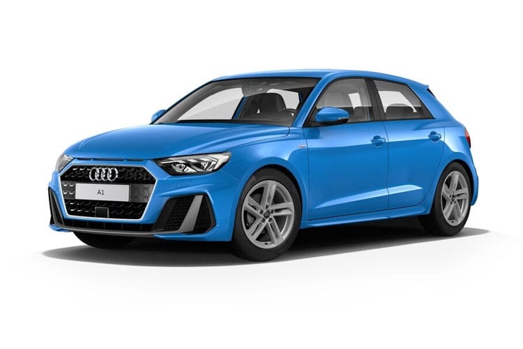 Audi A1 25 Sportback 5Dr 1.0 TFSI 95PS Black Edition 5Dr Manual [Start Stop] [Technology] front view