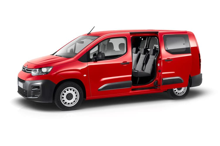 Citroen Berlingo XL 850Kg 1.5 BlueHDi FWD 100PS Enterprise Crew Van Manual front view