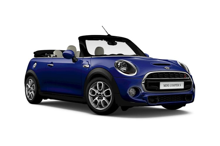 MINI Convertible Cooper S 2.0  192PS Exclusive 2Dr Steptronic [Start Stop] [Comfort Nav] front view