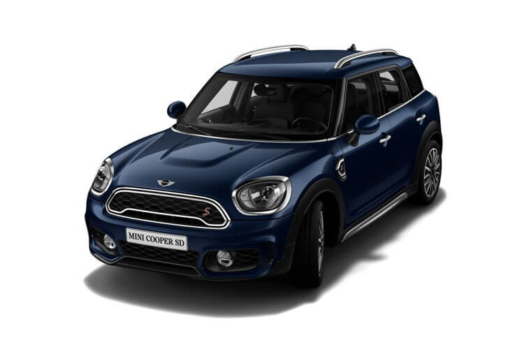MINI Countryman Cooper 1.5  136PS Boardwalk Edition 5Dr Steptronic [Start Stop] front view
