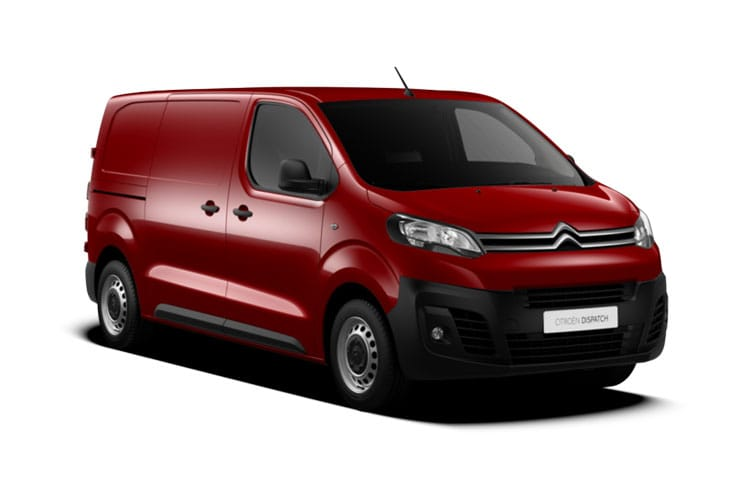 Citroen Dispatch M 1400Kg 2.0 BlueHDi FWD 120PS Enterprise Van EAT8 [Start Stop] front view