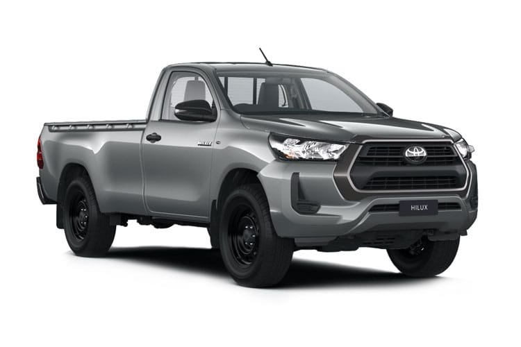 Toyota Hilux PickUp Extra Cab 4wd 2.4 D-4D 4WD 150PS Active Pickup Double Cab Manual [Start Stop] front view