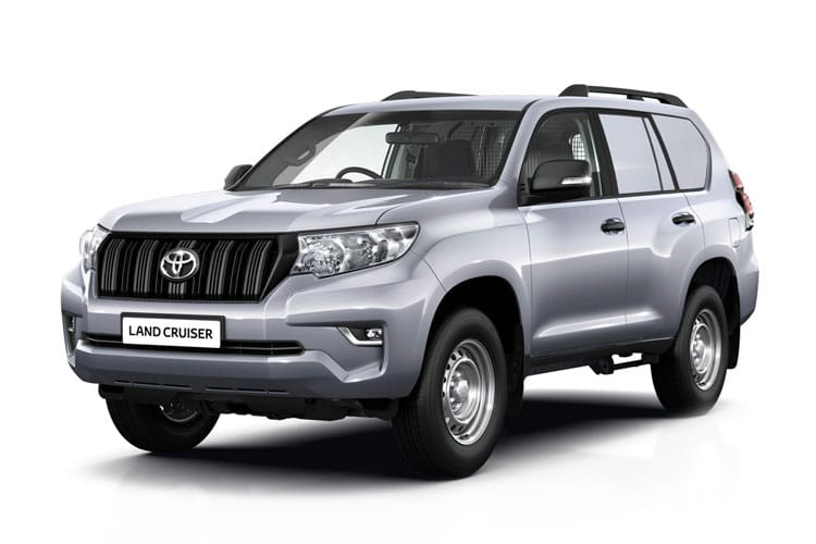 Toyota LandCruiser LCV LWB 4wd 2.8 D 4WD 204PS Active Van Auto [Start Stop] [2Seat Navi] front view