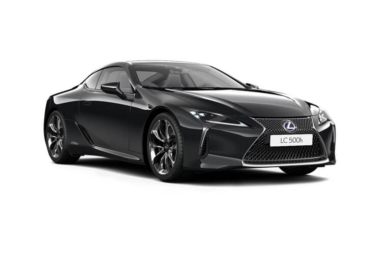 Lexus LC 500 Coupe 5.0 V8 464PS Sport Plus 2Dr Auto front view