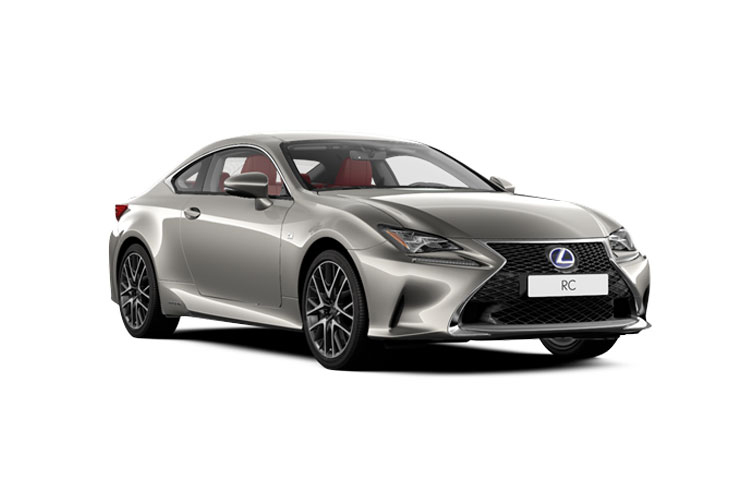 Lexus RC F Coupe 5.0 V8 463PS Track Edition 2Dr Auto front view