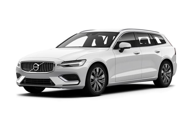 Volvo V60 Estate AWD PiH 2.0 h T8 Twin Engine 11.6kWh 390PS R DESIGN Plus 5Dr Auto [Start Stop] front view