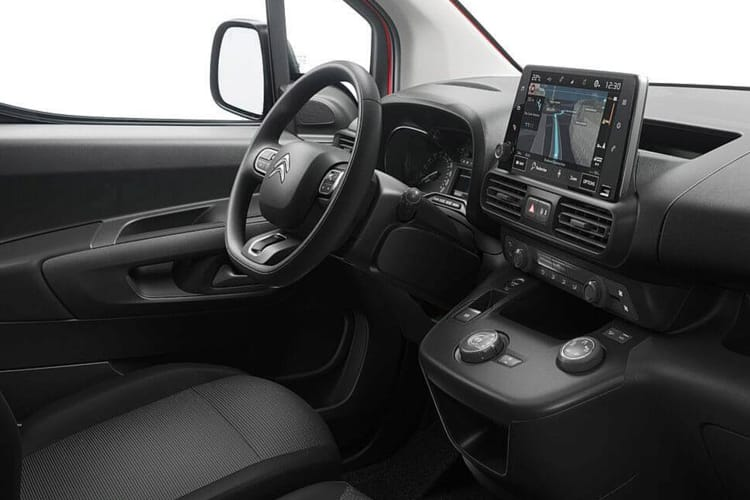 Citroen Berlingo XL 850Kg 1.5 BlueHDi FWD 100PS Enterprise Crew Van Manual inside view