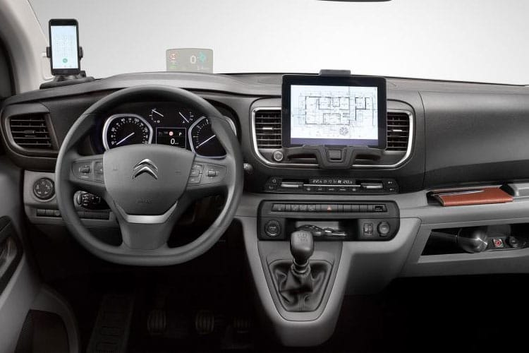 Citroen Dispatch e-Dispatch M 1000Kg Elec 75kWh 101KW FWD 136PS Enterprise Van Auto inside view