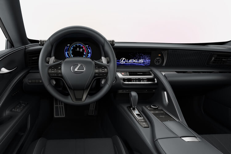Lexus LC 500 Coupe 5.0 V8 464PS Sport Plus 2Dr Auto inside view
