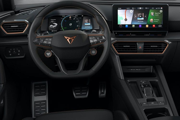 CUPRA Leon Hatch 5Dr 2.0 TSI 300PS VZ3 5Dr DSG [Start Stop] inside view