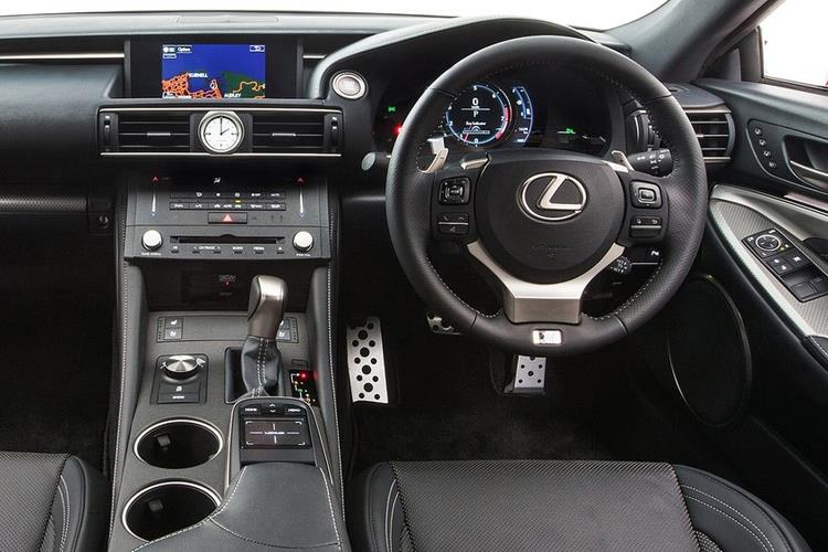 Lexus RC F Coupe 5.0 V8 463PS Track Edition 2Dr Auto inside view