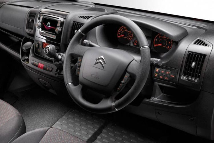 Citroen Relay 35 L3 2.2 BlueHDi FWD 140PS Enterprise Crew Van High Roof Manual [Start Stop] inside view