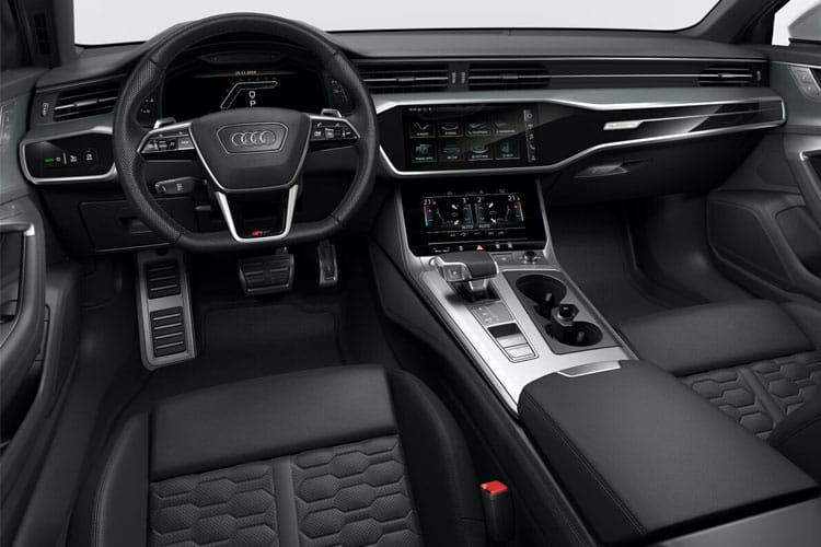 Audi A6 55 Avant quattro 3.0 TFSI V6 340PS Black Edition 5Dr S Tronic [Start Stop] inside view