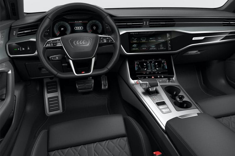 Audi A6 50 Saloon quattro 3.0 TDI V6 286PS Black Edition 4Dr Tiptronic [Start Stop] [Technology] inside view